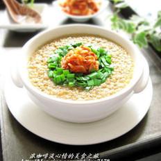 韩式泡菜蒸蛋