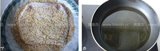 炸猪排的简单做法