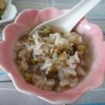 绿米绿豆粥