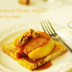 焦糖核桃苹果