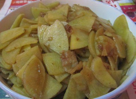 炒土豆片怎么做