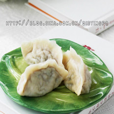 莲藕馅水饺