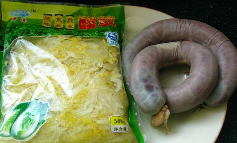 酸菜白肉血肠的做法大全