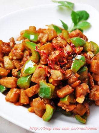 泰式酸辣酱烧茄丁的做法