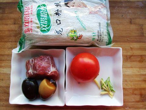 番茄皮蛋粉丝汤的做法大全