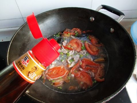番茄皮蛋粉丝汤怎样煸
