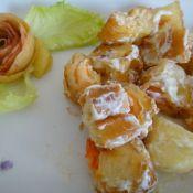 蘋果油條蝦