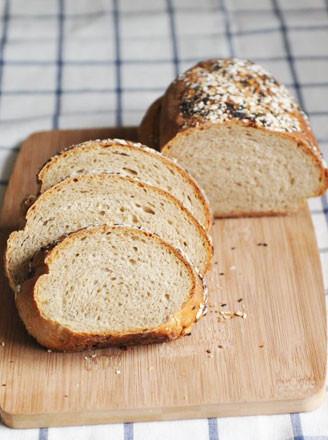 黑麦面包的做法