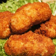 马苏里拉鸡肉堡
