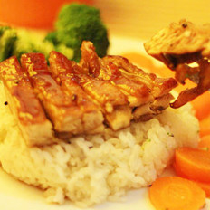日式照烧鸡排饭