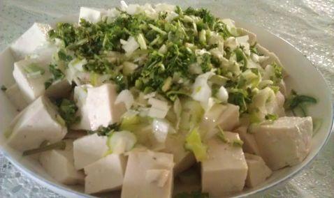 葱油北豆腐怎么做