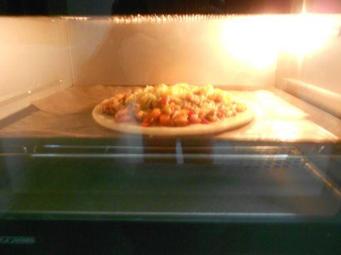 鸡肉披萨怎么煸