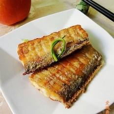 香煎咸带鱼的做法