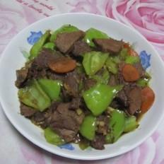 辣炒酱牛肉