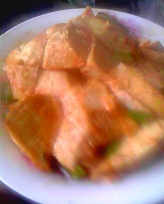番茄酱烧豆腐的做法