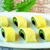 雞蛋黃瓜卷
