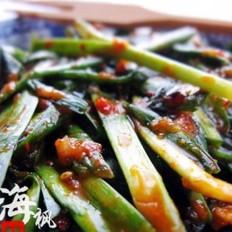 拌韭菜的做法