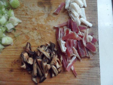 香菇青菜粉干的做法图解