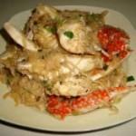 米粉煮螃蟹