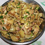 猪肉炒毛豆