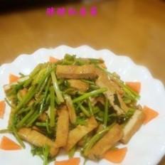 香菜炒豆腐