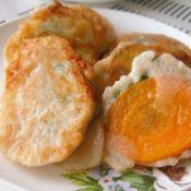 土豆胡萝卜夹心肉饼