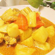 泰式黄咖喱鸡