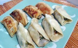 猪肉海菜煎饺的做法