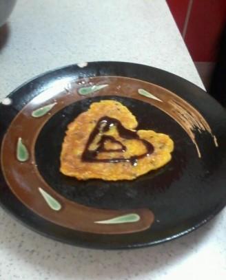南瓜沙拉黑芝麻黏米饼的做法