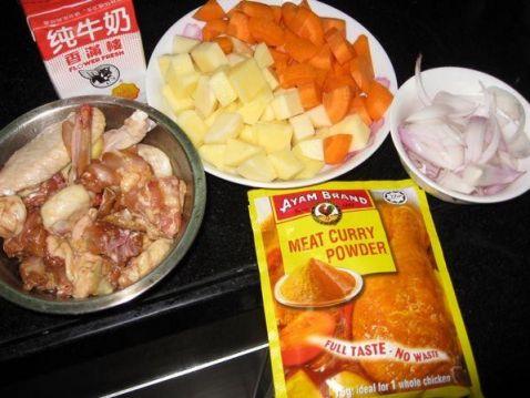 咖喱鸡肉饭的做法大全