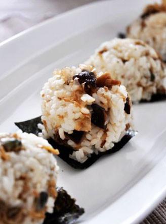 日本饭团的做法