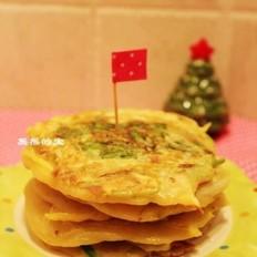 韩式葱香土豆煎饼
