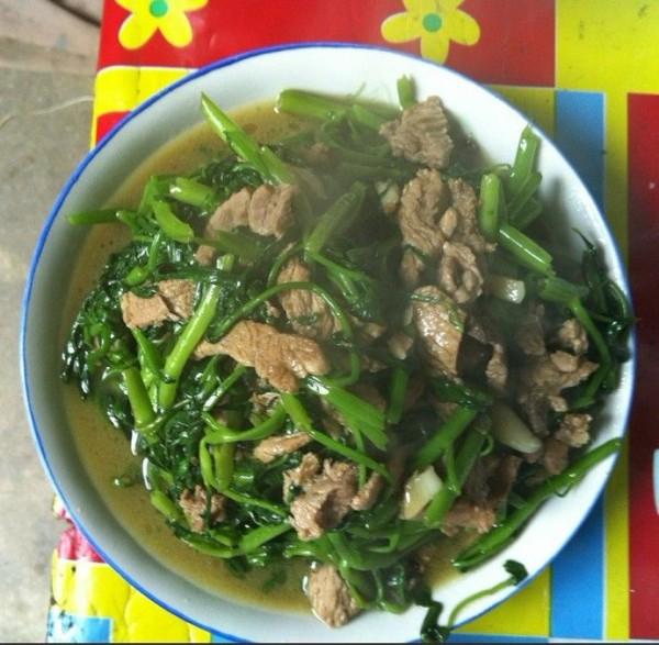 空心菜炒肉怎么吃