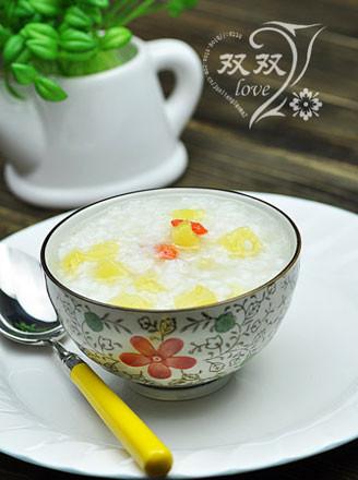 菠蘿粥的做法