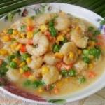 怎么做水晶饺子皮杂蔬炒虾仁的做法