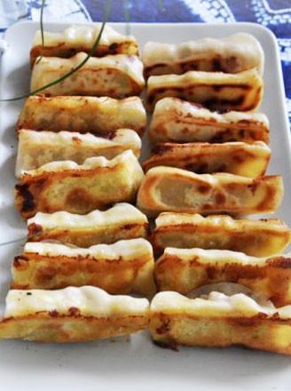 鮮蝦鍋貼的做法