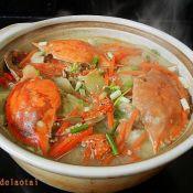 蛤蟆鱼怎么做梭子蟹胡萝卜豆腐汤的做法