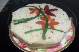 白糖桂花松糕的做法