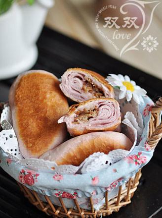 紫薯培根煎餅的做法
