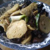 菌菇炒素鸡