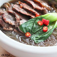 银丝牛肉煲