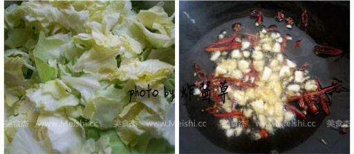炝炒包菜的做法图解