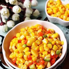 白果松仁玉米的做法大全