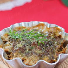 茴香羊肉饼
