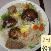 香菇瘦肉焗饭