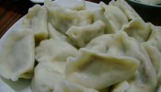 素馅饺子的做法