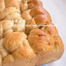 橄榄油藜麦核桃老式面包