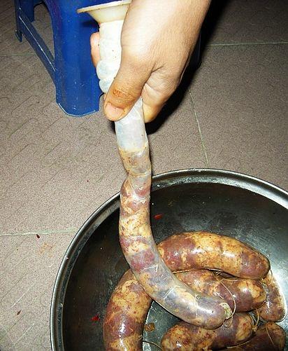 灌香肠怎么煮