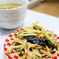 麻醬小拌菜