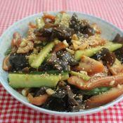 素菜什么菜好吃又简单黄瓜拌猪耳朵的做法